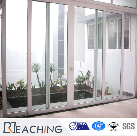 Customized Germany Hardware UPVC / PVC Terrace Door Sliding Windows And  Doors