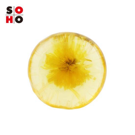 Private Label Nourishing & Whitening Handmade Flowers Amino Acid Bath and Body Works Hand Soap Bar