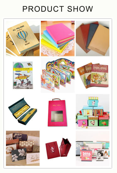 Custom Book Printing High Quality Softcover Story Book Printing pictures & photos