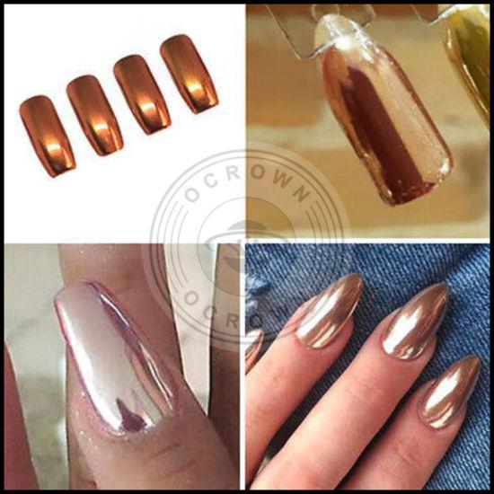 Mirror Aluminium Powder Silver Chrome Pigment for Nail Polish ...