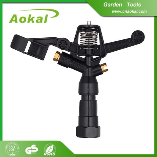 High Quality Water Impulse Small Garden Sprinkler for Agriculture