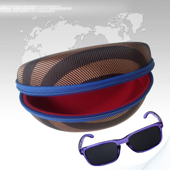 Quakeproof Fabric Hard EVA Glasses Display Case Eyeglass Bags