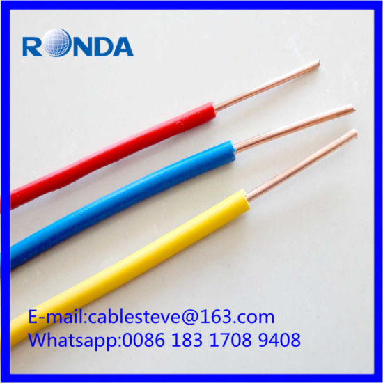 China solid PVC electric wire cable 2.5 SQMM - China solid cable 2.5 ...