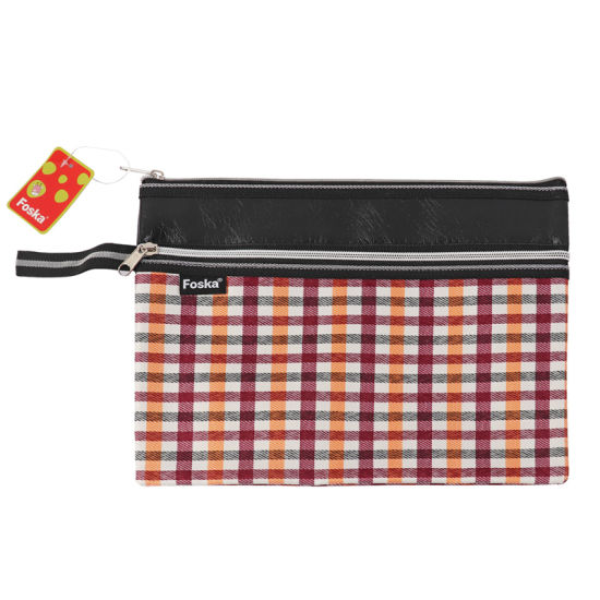 Hot Sale Fabric Zip Bag pictures & photos