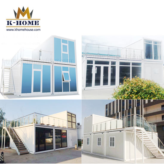 Flat Pack Portable Container House Modular Designed with Toilet