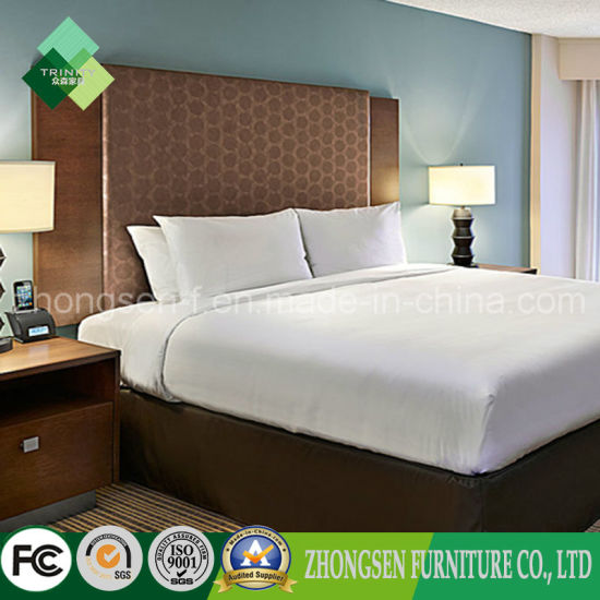 Top Selling Products Modern Simple Style Hotel Bedroom Set (ZSTF-21) pictures & photos