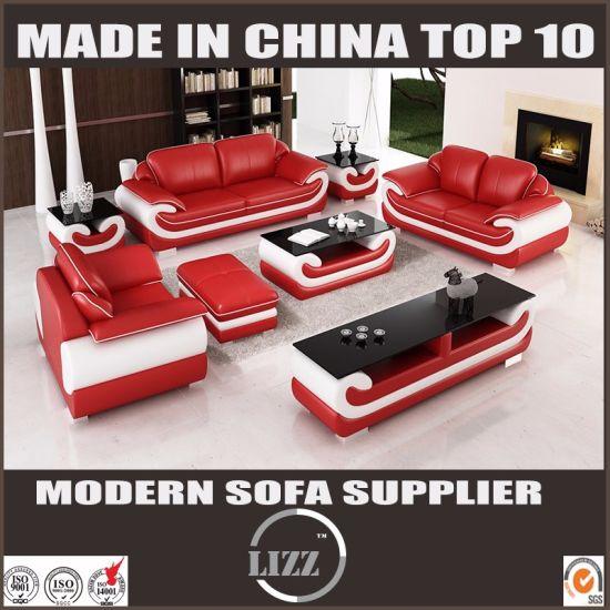 Miami Modern Furniture Hotel Sectional Leather Sofa
