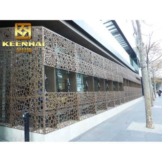 Keenhai Aluminum Wall Cladding Facade for Design (KH-BH-AP-012) pictures & photos