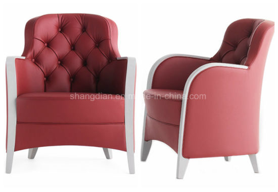 Modern Single Sofa Design American Style Leather Sofa for Hotel/Home (KL S01)