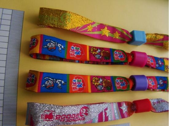 Custom Woven Webbing/Tape/Neck Lanyard/Rope for Wrist with Polyester pictures & photos