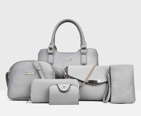 a23ccc79cc 6PCS Handbag Set Ladies Handbags Designer Women Tote Shoulder Bags (WDL0986)