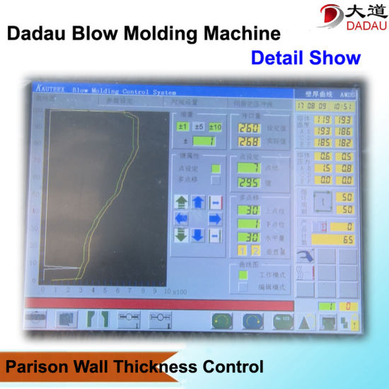 Multi-Layer Co-Extrusion Blow Moulding Machine
