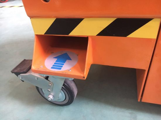 Mini Scissor Lift (Mobile) Max Working Height 5.8 (m) pictures & photos