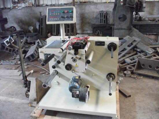 Zb-320 Slitting Machine with Rewinder pictures & photos