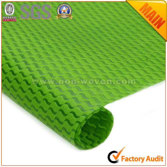 Non Woven Flower Gift Wrapping Paper No. 30 Green