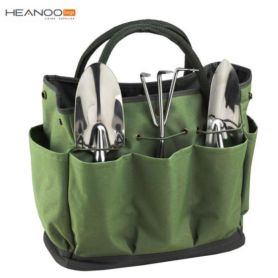 China Polyester Gardening Storage Organizer Tote Garden Tool Bag