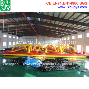 Commercial Indoor Inflatable Games Inflatable Race Rings for Car Inflatable Rings for Zorb Ball