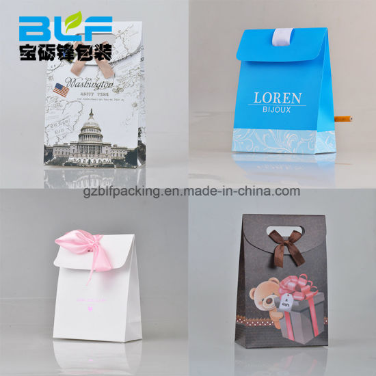 China Paper Wedding Favor Bags Blf Pb070 China Paper Wedding