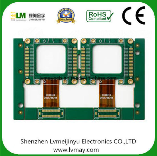 Excellent Design Fr4 Rigid - Flex PCB Connection FPC Polymide Stiffener