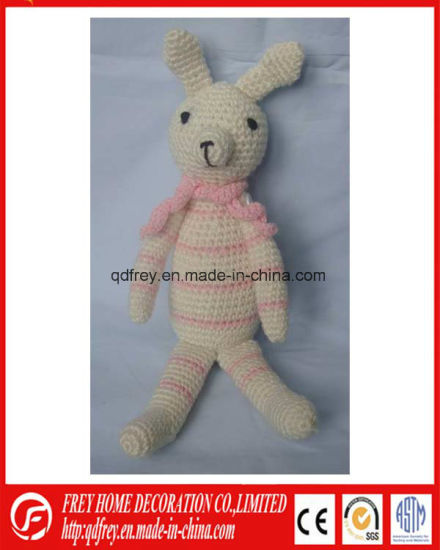 China Hot Sale Hand Crochet Dog Toy for Baby Gift - China