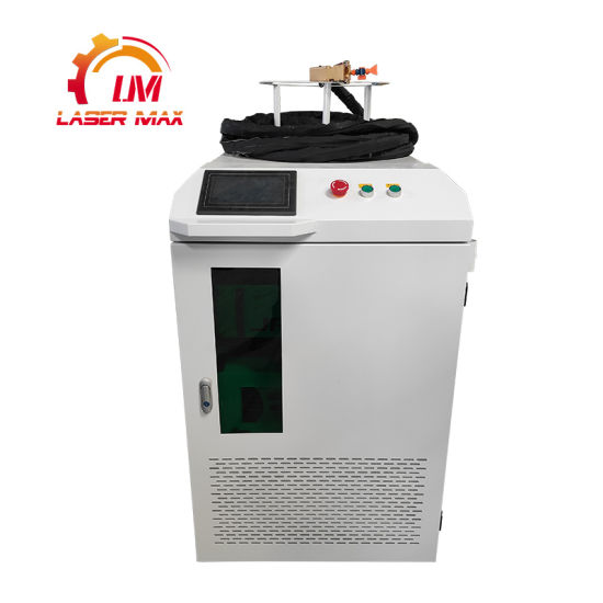 50W 100W 200W 1000W Laser Cleaning Machine for Steel Pipe Paint Removal