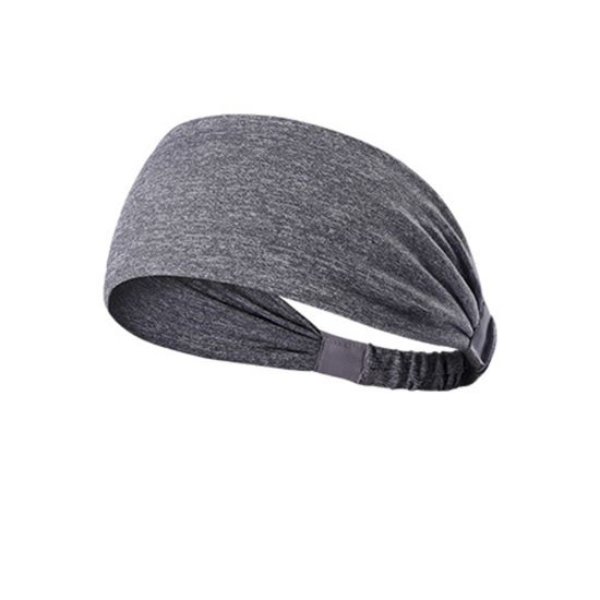 China Women Men Elastic Yoga Headband Sport Sweatband Running
