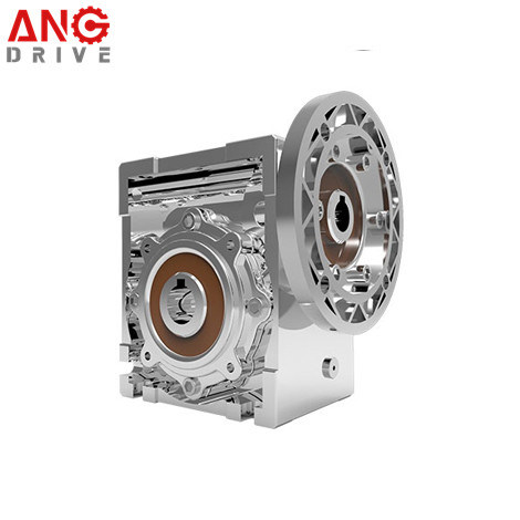 Nmrv Right Angle Square Stainless Steel Reduction Worm Gearbox
