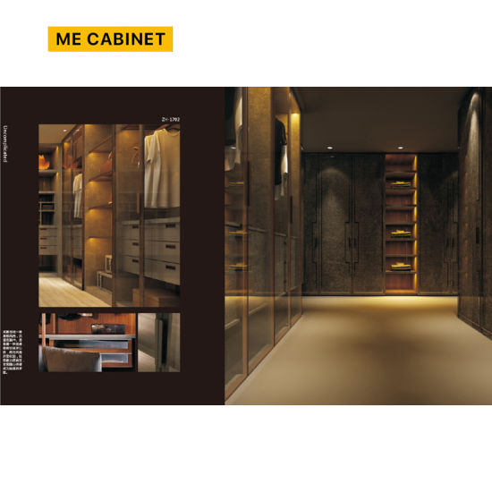 Mecabinet Wardrobe Cabinet China Manufacturer Simple/Modern Style Wooden Waedrobe Suitbale for Adult/Children