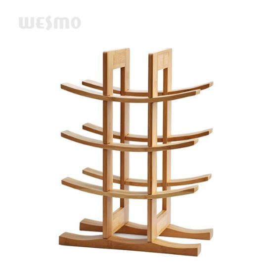 Wine Bottle Rack with Bamboo pictures & photos