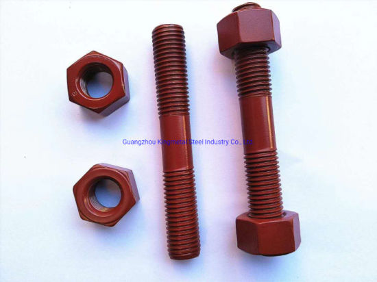 Carbon Steel High Tensile ASTM A193 B7 Stub Bolt with A194 2h Heavy Hex Nut