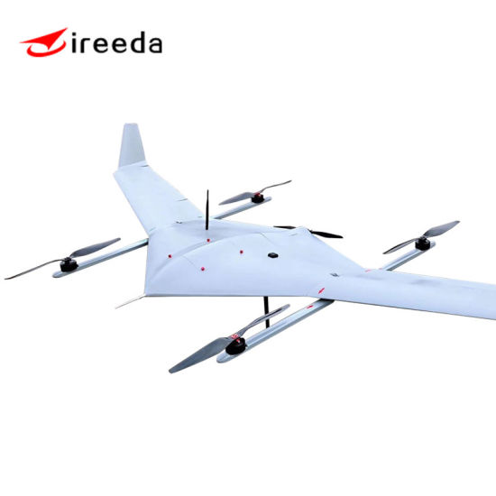 Military Long Endurance Drone Fixed Wing Security Version Professional HD Thermal Camera Uas