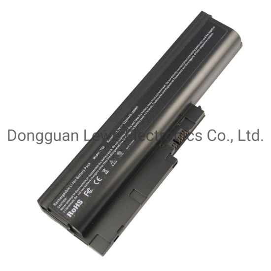 Replacement Li-ion Battery for IBM T60 11.1V 5200mAh 6cells Laptop Battery Pack