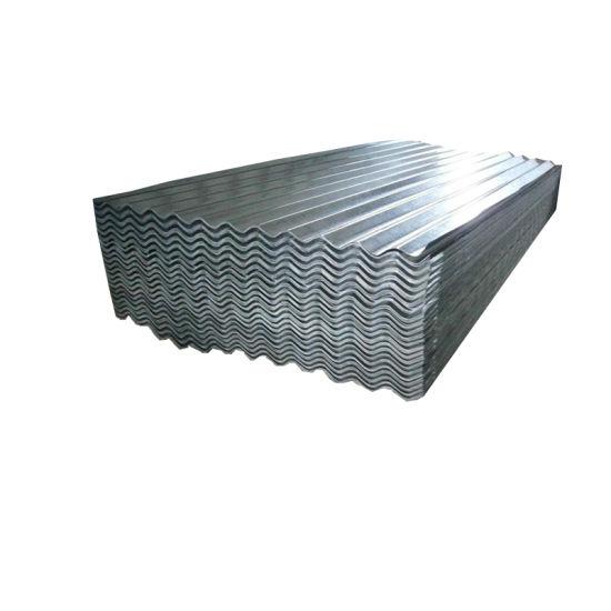 60zinc Coated Galvanized Metal Corrugated Roofing Sheet