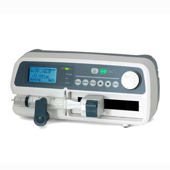 Medical 10, 20, 30, 50, 60 Ml Wireless Syringe Pump