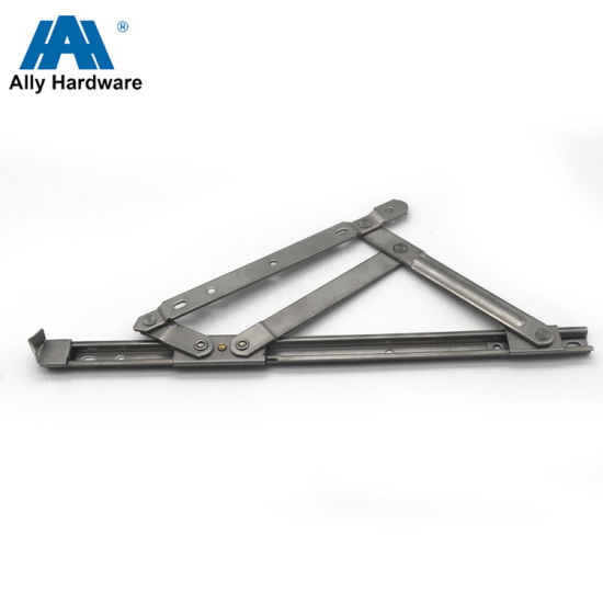 U-Shaped Square Groove SS304 Top Hung Casement Friction Hinges