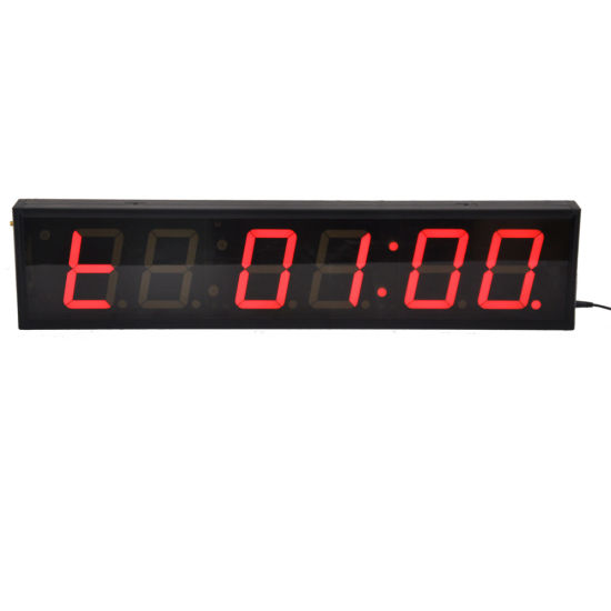 4 Inch 6 Digits LED Fitness Digital Countdown Timer