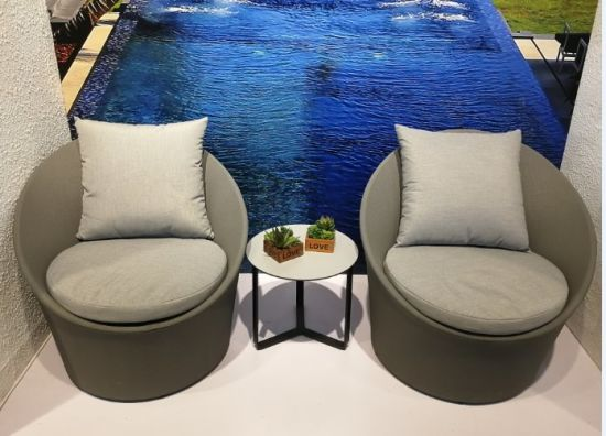 Small Type Outdoor Garden Dining Furniture with Coffee Table Suitable Onlineshop