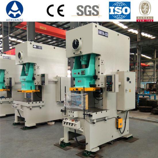 Single Crank Pneumatic Punching Stamping Power Press Machine for Metal Sheet