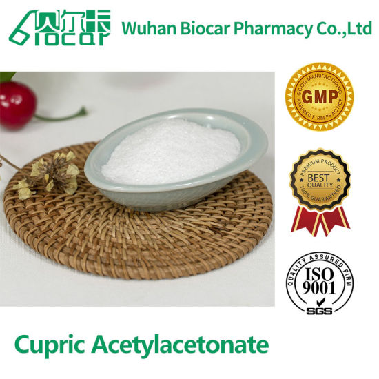 High Purity Good Price Pharmaceutical Raw Material Cupric Acetylacetonate CAS: 13395-16-9