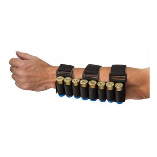 Tactical Adjustable Shooters Forearm Bullet Shot Gun Shell Ammo Pouch