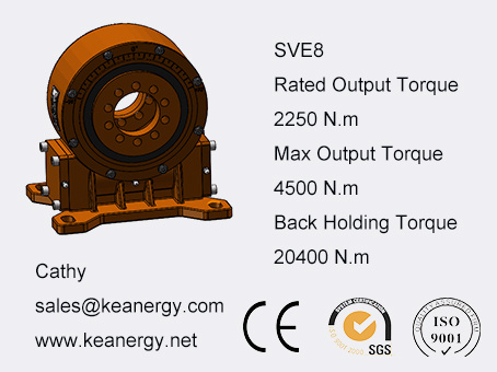 ISO9001/CE/SGS Slewing Drive for Gearmotor pictures & photos