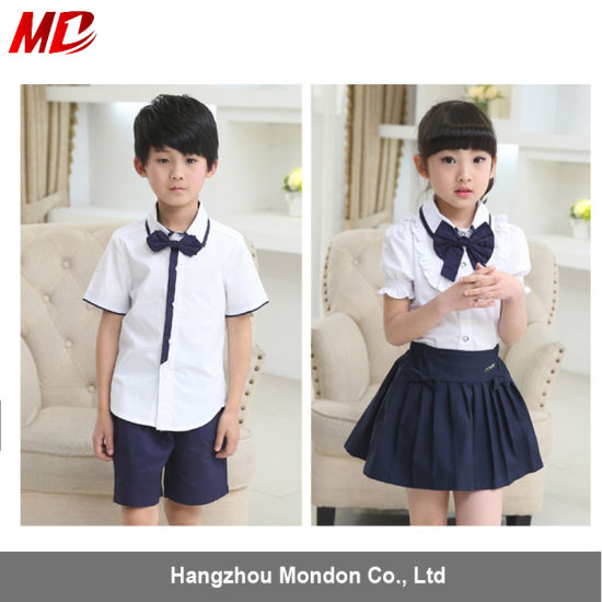 dd9b3a45003 Kindergarten T-Shirt and Pants School Uniform for Student pictures   photos