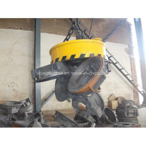 Round Type Yueyang Crane Lifting Magnet for Scraps pictures & photos