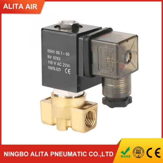 Direct Acting Solenoid Valve Electric Magnetic Valve