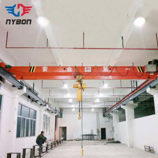 Wholesale Single Girder Overhead Crane with Electric Hoist pictures & photos