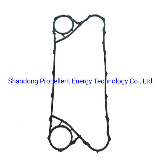 Sondex S20A S21 S22 S31A S41vplate Heat Exchanger Parts NBR/HNBR Gasket for Saltwater Cooling with High Corrosion Resistance