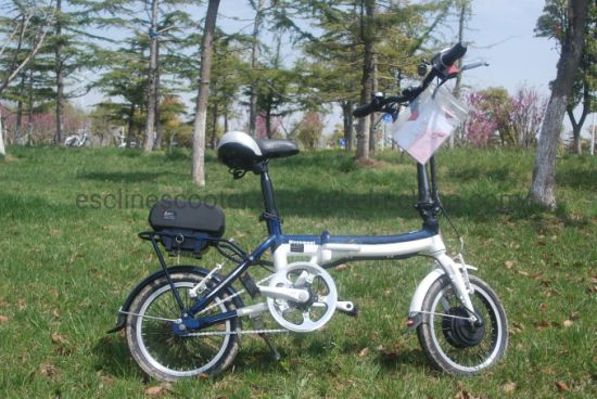 14'' Wheel aluminium Frame Easy Folding Ebike Ce