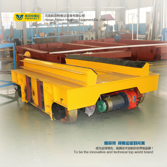 Customized Bay to Bay Coil Handling Carts for Industry Use on Rails pictures & photos