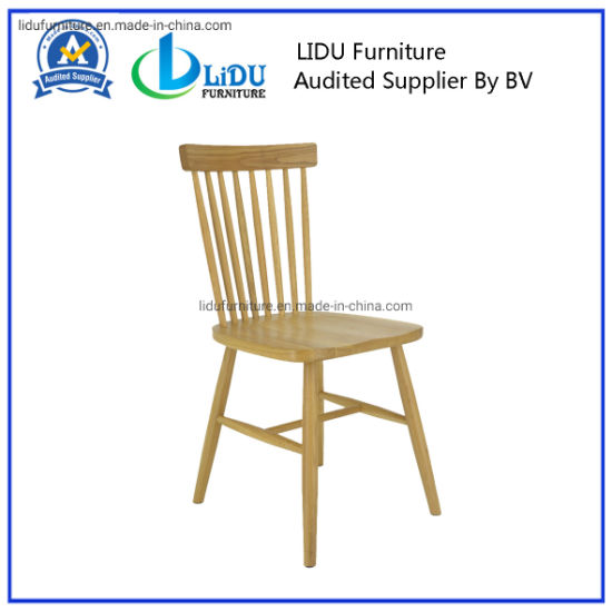 Classic Cafe Dining Chair with High Quality/Individual Dining Chairs/Dining Room Furniture with Fabric/Natural Color