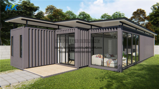 as Standard High Quality Modular Prefab /Prefabricated Shipping Container House with Rain Gutter pictures & photos